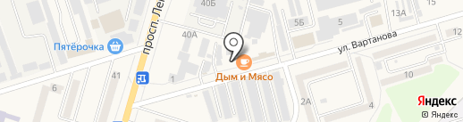 Чохай на карте Аксая