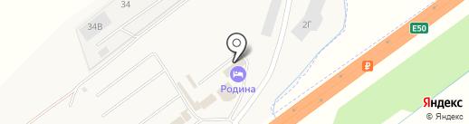Родина на карте Ленины