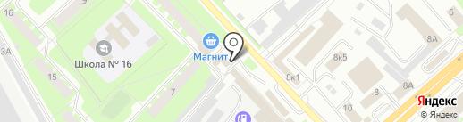 УДачная покупка на карте Вологды