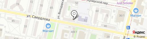 Войнушка на карте Ярославля