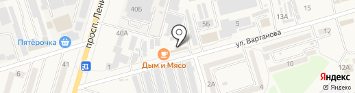 Колбаса плюс на карте Аксая