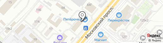 Тримо-ВСК на карте Ярославля