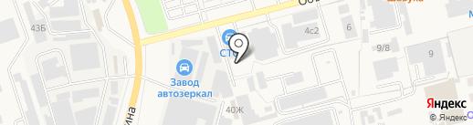 АгроСнаб-Юг на карте Аксая