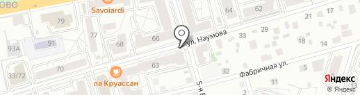 ЯНА на карте Ярославля