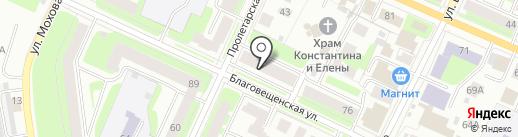 Приосколье на карте Вологды