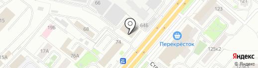 ИнтерДизайн на карте Ярославля