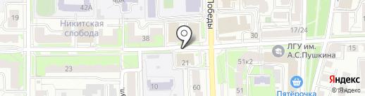 ТЭРОН на карте Ярославля