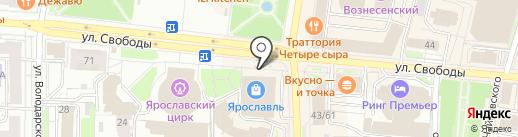 Много Мебели на карте Ярославля