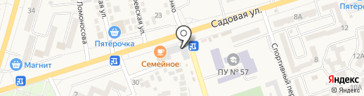 33 катушки на карте Аксая