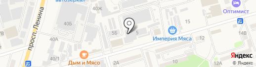 Монополия на карте Аксая