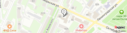 АВТОПРАЙМ на карте Вологды