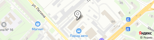 WATTSON на карте Вологды
