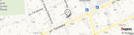 Многофункциональный центр по предоставлению государственных и муниципальных услуг на карте Аксая