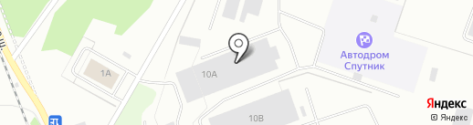 КУБиК АВТОсервис на карте Северодвинска