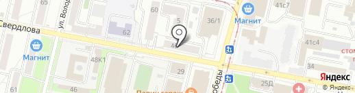 Аутлет плюс на карте Ярославля