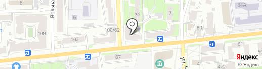 Овощной магазин на карте Ярославля