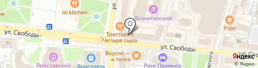 Дом.ru на карте Ярославля