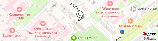 Евраз на карте Ярославля