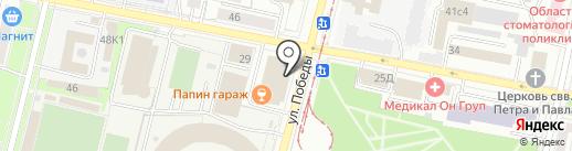 Ковры Люкс на карте Ярославля
