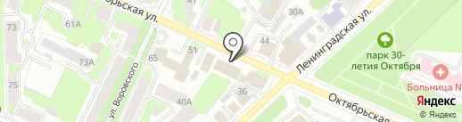 AVS на карте Вологды