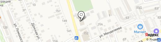 Пожарная часть на карте Аксая