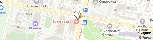 HAPPY на карте Ярославля