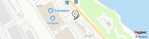 ТЕК Авторитет на карте Ярославля
