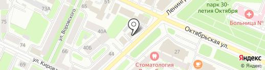 ДАНИЛА-МАСТЕР на карте Вологды