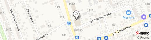 Респект на карте Аксая