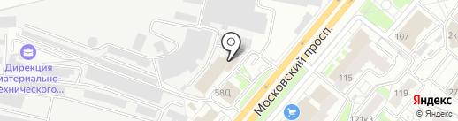 Шик & Блеск на карте Ярославля
