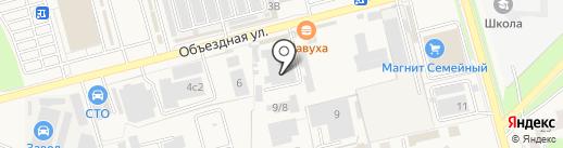 Джем на карте Аксая