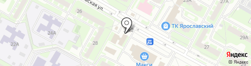 Лидер на карте Вологды