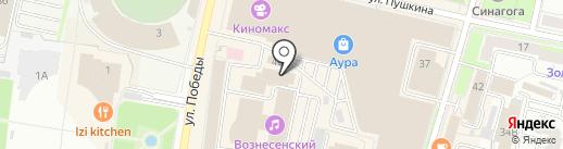 LEVEL UP на карте Ярославля