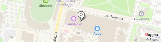 Burvin на карте Ярославля