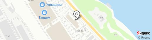 Коттеджъ на карте Ярославля