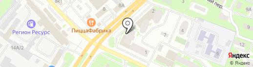 isNext на карте Вологды