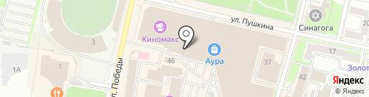 Буланже на карте Ярославля
