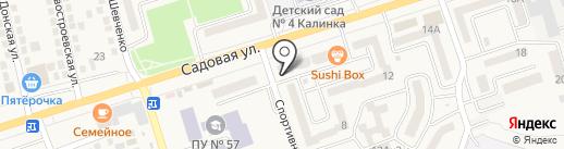 Карапуз на карте Аксая