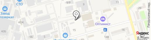 Мастер-ЭМ на карте Аксая