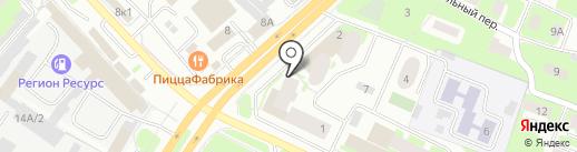 5 элемент на карте Вологды