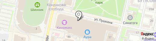 LEXMER на карте Ярославля