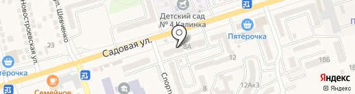 Бастион на карте Аксая