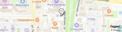 Family house на карте Ярославля