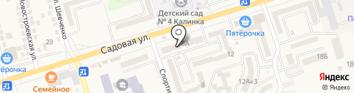 БИС на карте Аксая