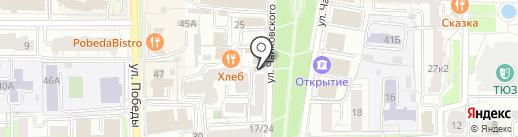 ВОГ на карте Ярославля