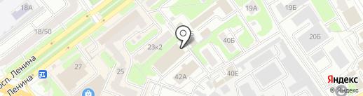 Пятая передача на карте Ярославля