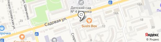 Вуаля на карте Аксая