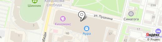 Детское счастье на карте Ярославля