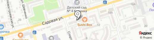 Юг Аптека на карте Аксая