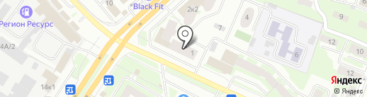 Мир Станков на карте Вологды